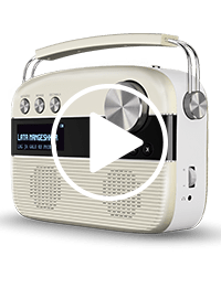 saregama carvaan demo video play symbol