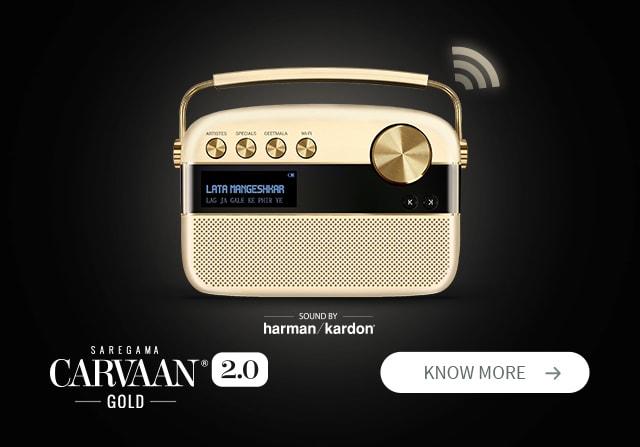 Saregama Carvaan 2.0 Gold Hindi
