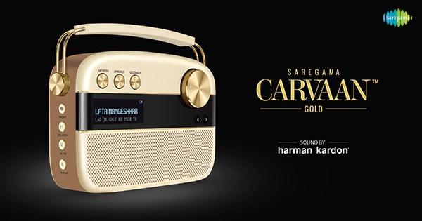 Saregama Carvaan Gold With Iconic Harman Kardon Sound