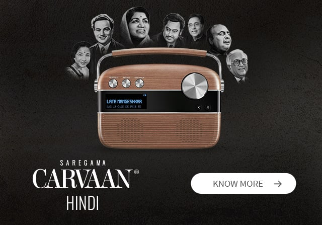 Saregama Carvaan - Best Digital Audio Player with 5000 Evergreen Songs