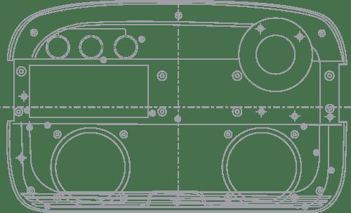 carvaan design blue print dimensions