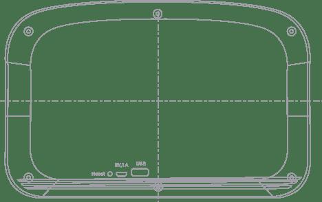 carvaan usb and audio jack button blueprint