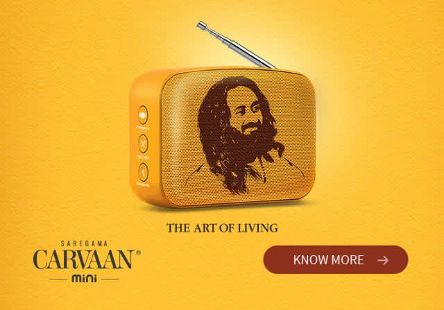 Saregama Carvaan Mini Art Of Living