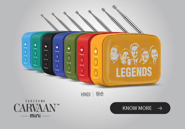 Saregama Carvaan Mini Hindi Legends