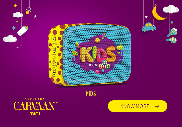 Saregama Carvaan Mini Kids