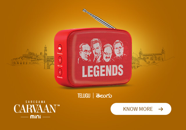 Saregama Carvaan Mini Telugu Legends