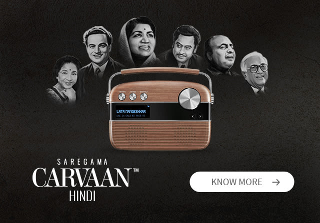 Saregama Carvaan - Best Digital Audio Player with 5000