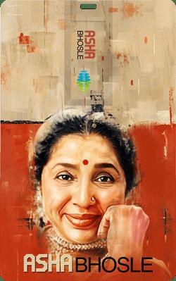 Saregama Music Card: Asha Bhosle