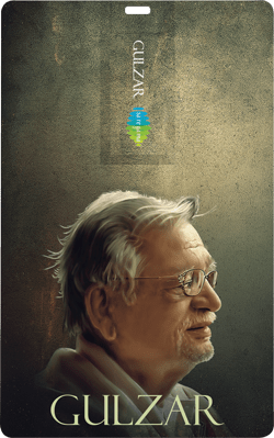 Saregama Music Card: Gulzar