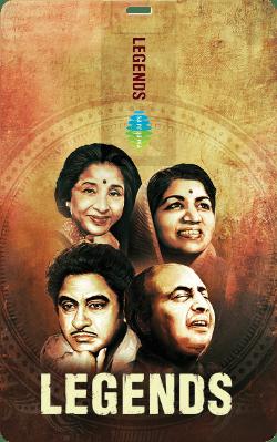 Saregama Legends Music Card Hindi