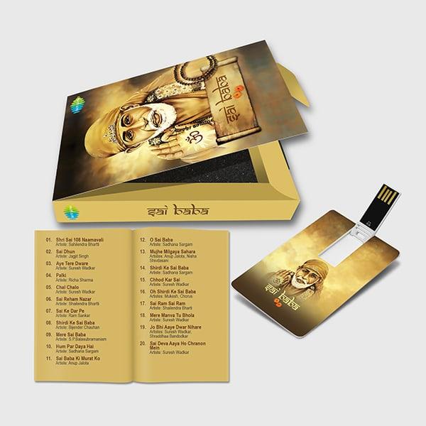 Music, Album,  Devotional, Sai Baba, Music Card, Music Cards