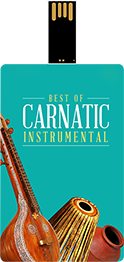 Saregama Best of Carnatic Instrumental Music Card