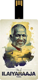Saregama Hits of Ilaiyaraaja Music card