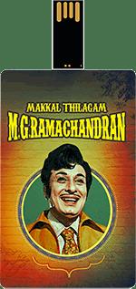 Saregama Makkal Thilagam - M.G.Ramachandran Music Card