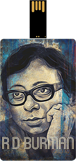 Saregama R. D. Burman Music Card