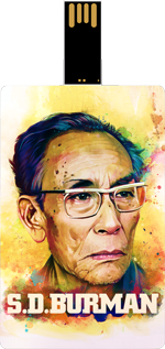 Saregama S D Burman Music Card