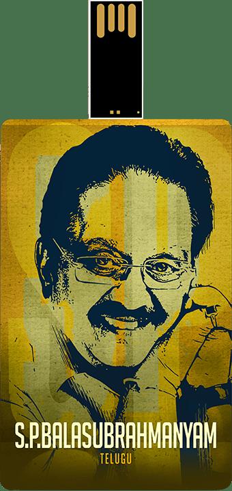 Saregama S.P. Balasubrahmanyam Music Card