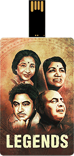 Saregama Legends Music Card Hindi