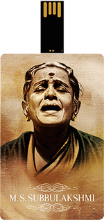 Saregama M.S. Subbulakshmi Music Card Tamil