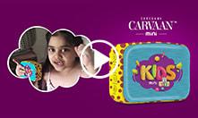 Carvaan Mini - Kids: <br/>Say hi to Fun-tastic learning.