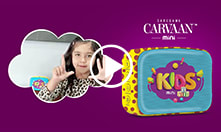 Carvaan Mini - Kids: <br/>Preloaded with specially curated content for your kid.