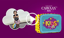 Carvaan Mini - Kids: <br/>Your kids have a new reason to smile.