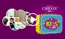 Carvaan Mini - Kids: <br/>All of our child's favourite content in one Bluetooth speaker.