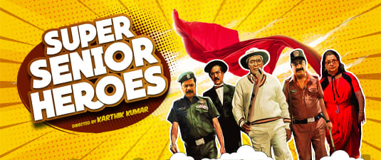 Super Senior Heroes
