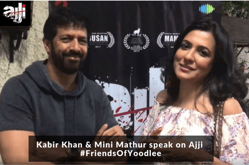 Kabir Khan Speaks on Ajji: Friends of Yoodlee